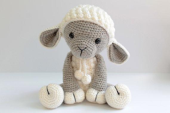 amigurumi lamb - Anatillea ETSY