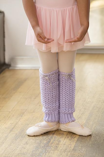 joy of dance leg warmers - salena baca