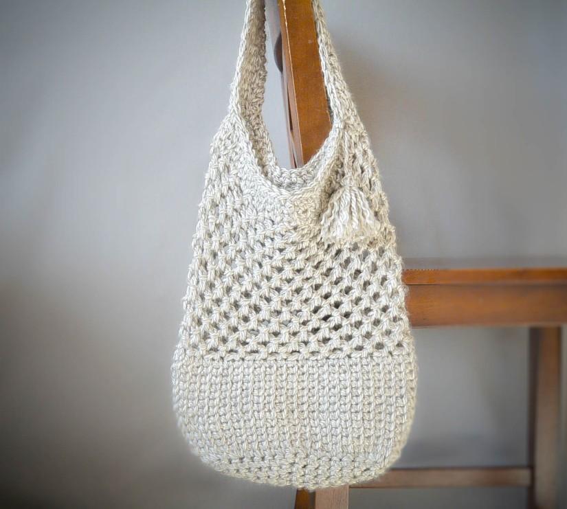 Manhattan-Crochet-Tote-Pattern-Picture - Mama in a stitch