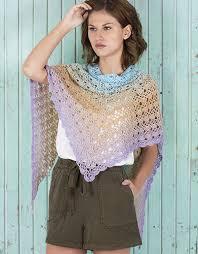 spring rainbow shawl - katia